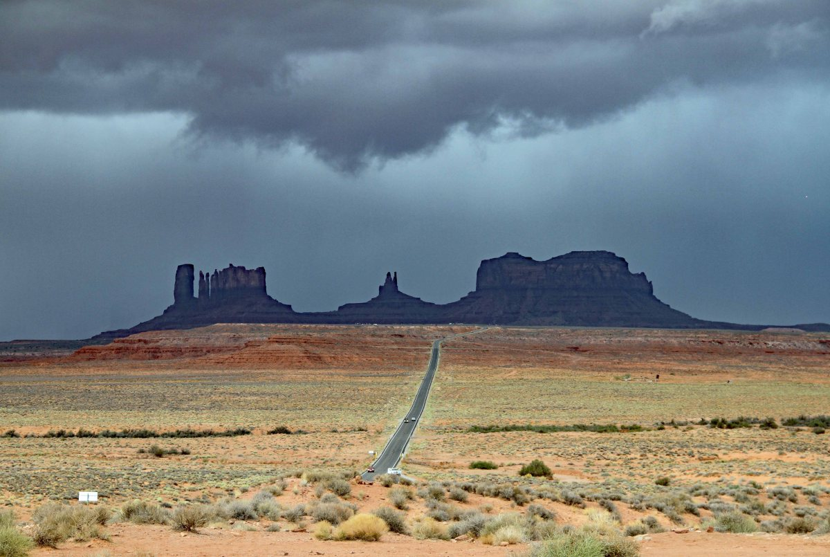 The Grand Circle Tour – Day Seven – Goodbye, Utah – Hello, Arizona (Mother Nature Takes Center Stage)